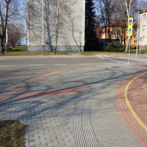 Cyklotrasa P, Ostrava - Hrabůvka