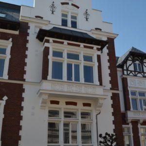 Oprava fasády, Domov Sírius, Opava