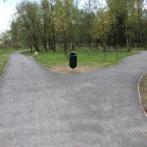 Komplex lesních cest z MZK, Výukový areál Bělský les, Ostrava