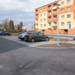 Rekonstrukce ulice Družstevní vč. parkoviště, Háj ve Slezsku
