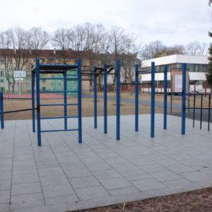 Street Workout Park Opava – park sv. Hedviky
