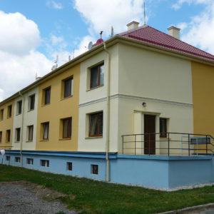 Zateplení fasády bytového domu, Velká Polom