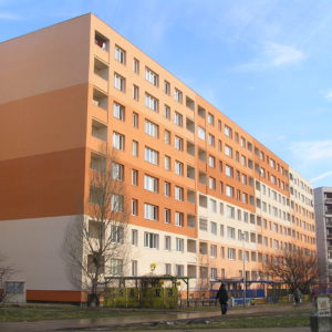 Zateplení fasády bytového domu, Ostrava - Dubina