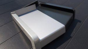 Hliníkové vnější parapety - stříbrná, antracit