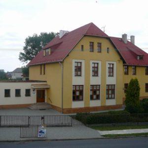 Zateplení fasády, ZŠ Kravaře - Kouty